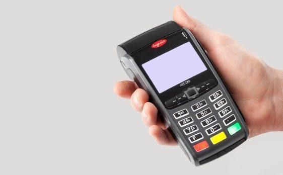 visa credit card machine